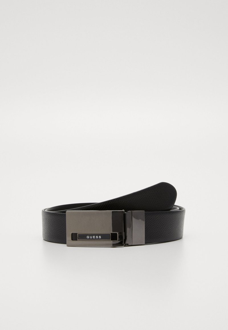 Guess - REVERSIBLE AND ADJUSTABLE BELT - Gürtel - black