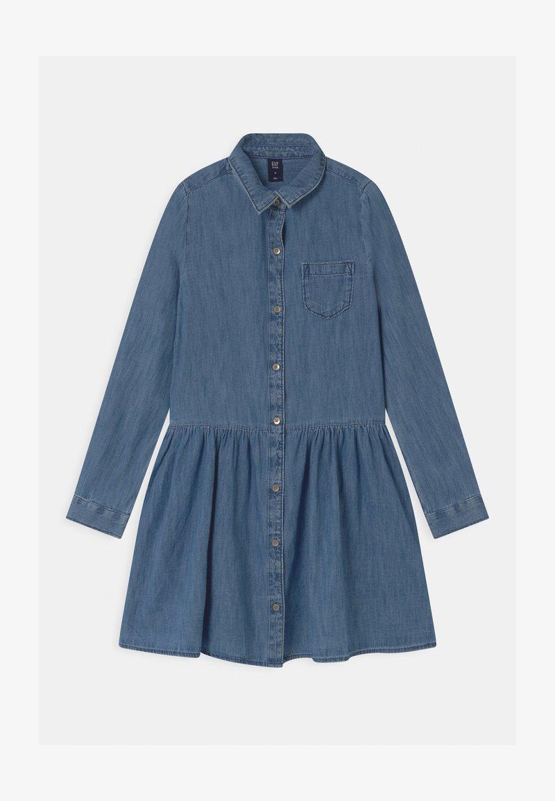 GAP - GIRLS - Denim dress - blue denim