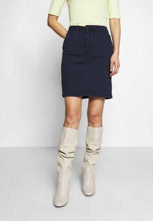 SKIRT  - Denim skirt - sky captain blue