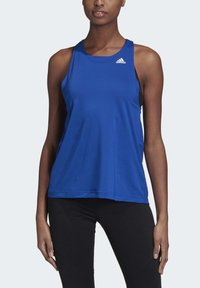 adidas Performance - DESIGNED TO MOVE ALLOVER PRINT TANK TOP - Top - blue - 4