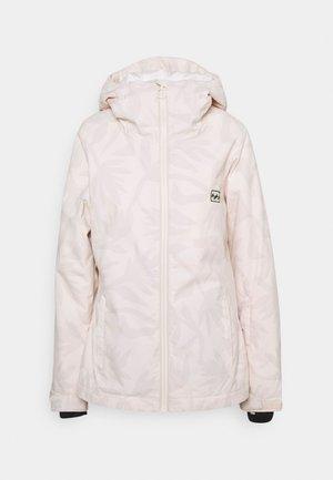 SULA - Snowboard jacket - white cap