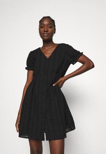 FILOWI - Shirt dress - black