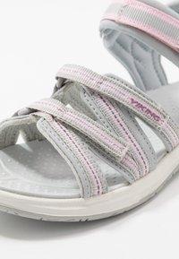 Viking - MOLLY - Walking sandals - light grey - 2
