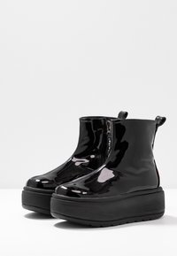 Coolway - RUIAN - Platform ankle boots - black - 4
