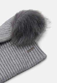 Barts - KENZIE BEANIE - Beanie - heather grey - 3