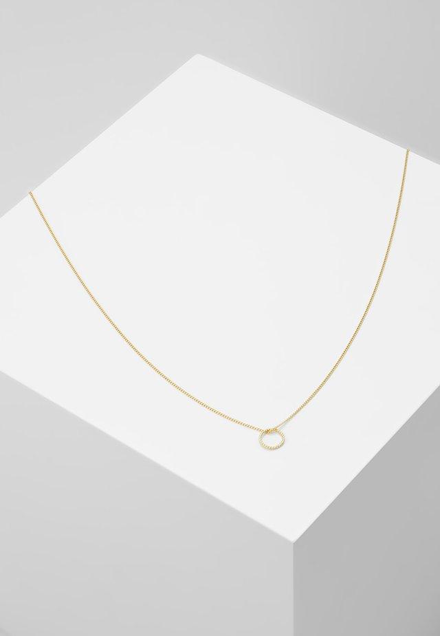 NECKLACE LEAH - Kaulakoru - gold-coloured