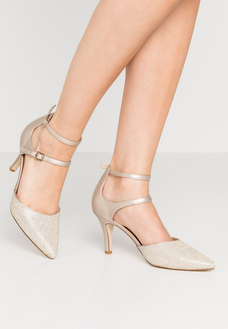 Anna Field - LEATHER - Tacones - beige
