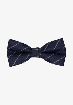 WILLIAM BOWTIE - Bow tie - navy blazer/stripes