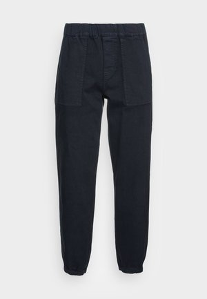 STYLE PATCHED POCKETS RELAXED FIT REGULAR LENGTH - Trousers - deep blue sea