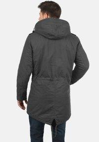 Solid - DARNELL - Winter coat - dark grey - 1