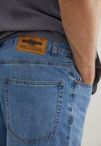 PULL&BEAR - Denim shorts - light blue - 5