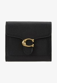 Coach - POLISHED PEBBLE TABBY SMALL WALLET - Wallet - black - 1
