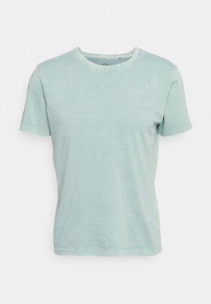 T-shirt basic - light green melange