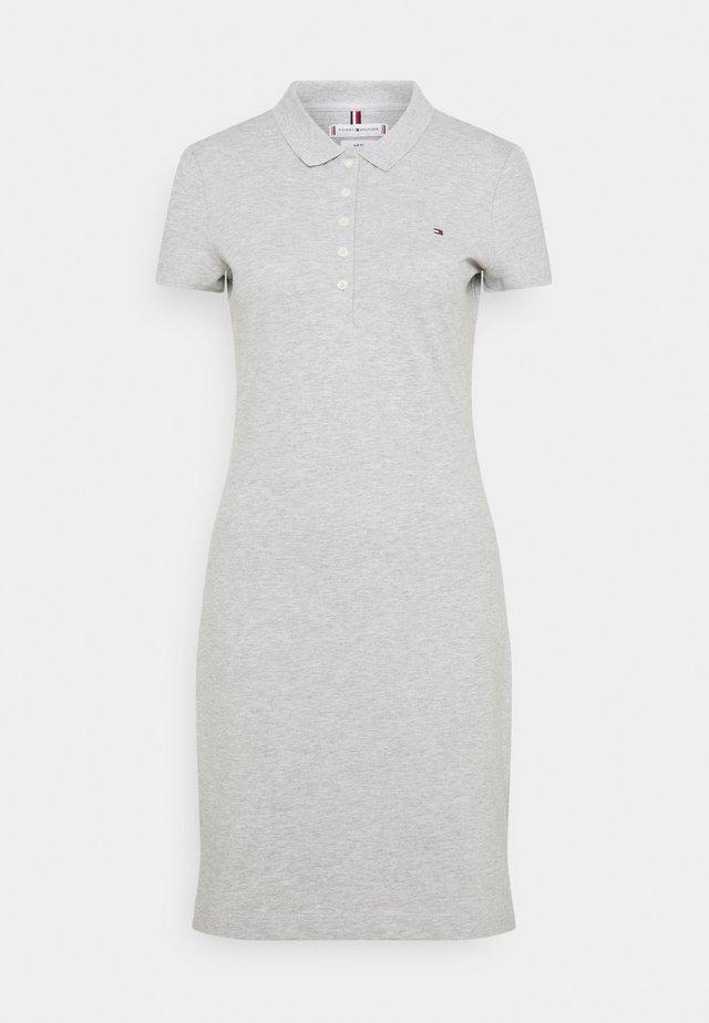 SLIM DRESS - Sukienka letnia - light grey heather