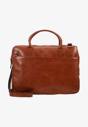 EXPLORER LAPTOP BAG SINGLE - Briefcase - cognac