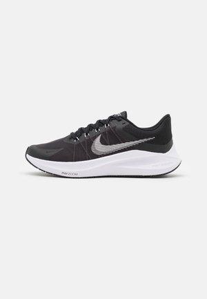 WINFLO 8 - Neutral running shoes - black/white/dark smoke grey