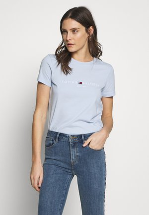 NEW TEE  - Print T-shirt - breezy blue