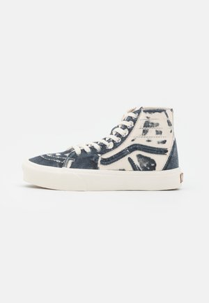SK8 TAPERED X ECO THEORY - Höga sneakers - dress blues/natural