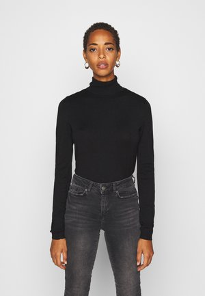 PCESERA ROLLNECK - Jumper - black