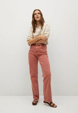 MARIA - Button-down blouse - ecru