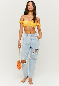 TALLY WEiJL - SLOUCHY - Relaxed fit jeans - blue - 1