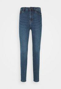 Noisy May - NMAGNES SKINNY SLIT - Jeans Skinny Fit - medium blue denim - 3