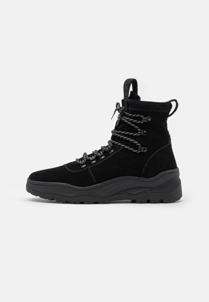MOJAVE - Lace-up ankle boots - black