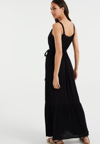 WE Fashion - Maxi dress - black - 1