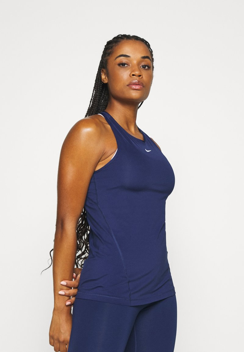 Nike Performance - TANK ALL OVER  - Camiseta de deporte - binary blue/white
