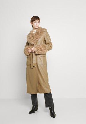AMIA COAT - Abrigo clásico - semolina beige