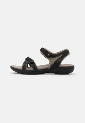 ADIB HIKING  - Walking sandals - nero/sand