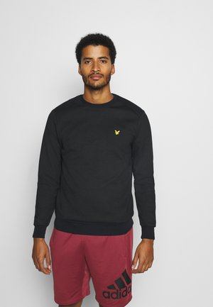 CREW NECK TECH - Sweatshirt - true black