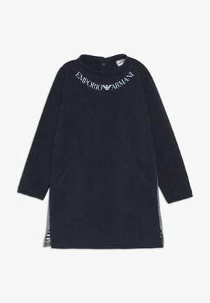 DRESS - Jersey dress - blu navy