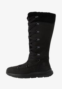 Timberland - MABEL TOWN WP TALL MUKLUK - Lace-up boots - black - 1