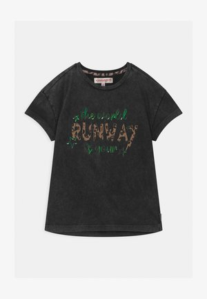 HELIEZE PROJECT RUNWAY  - Print T-shirt - deep black