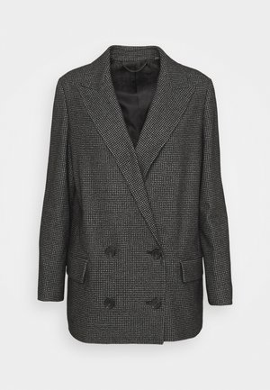 HELEI PUPPYTOOTH BLAZER - Short coat - black/white