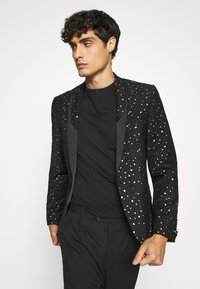 Twisted Tailor - FARROW JACKET - Veste de costume - black - 3