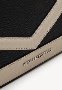KARL LAGERFELD - MAU CAMERA BAG - Across body bag - black - 3