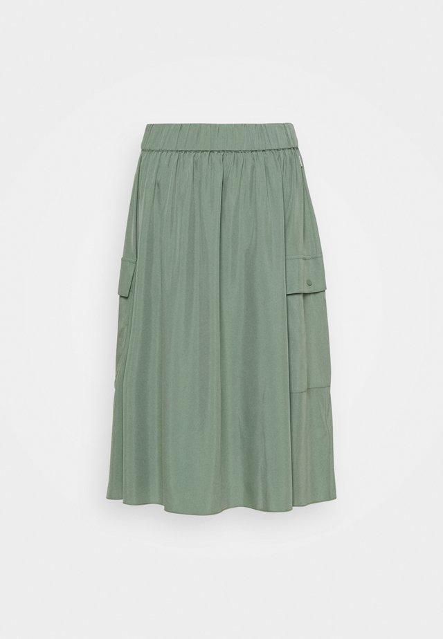 DEEP SKIRT WOMAN - Plooirok - green shadow