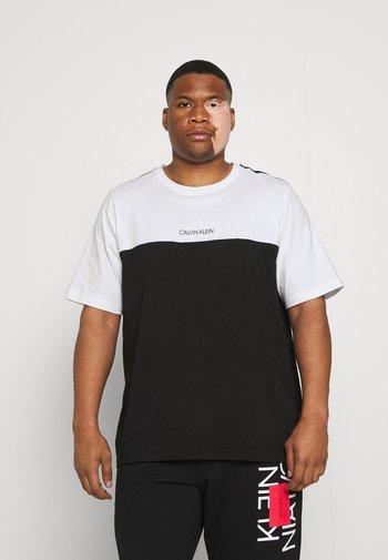 COLOR BLOCK - Basic T-shirt - bright white
