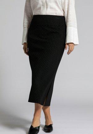 Pencil skirt - zwart