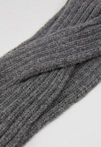 Pieces - Ear warmers - dark grey melange - 4
