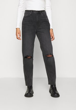 Relaxed fit jeans - rocker black