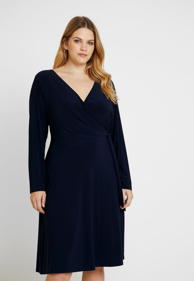 COREEN LONG SLEEVE DAY DRESS - Jersey dress - lighthouse navy