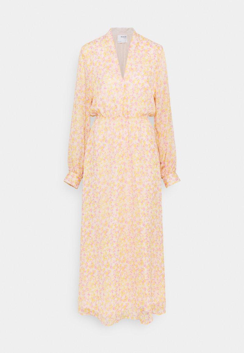 Selected Femme Tall - JEANIE VIENNA MIDI DRESS - Day dress - opera mauve