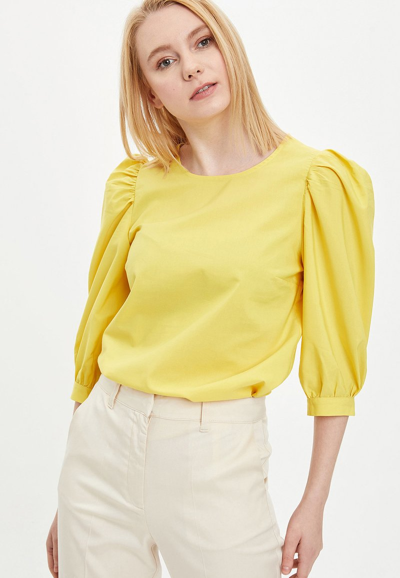 DeFacto - Blouse - yellow