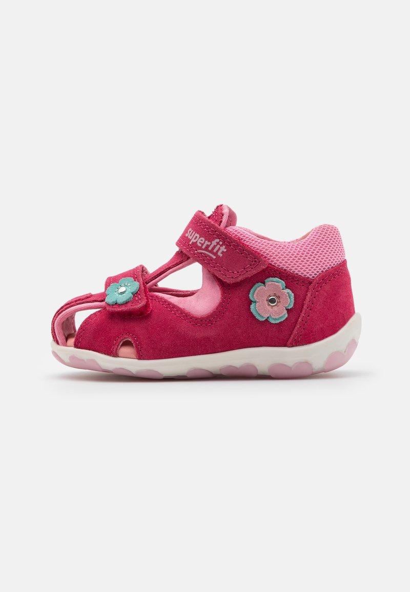 Superfit - FANNI - Sandals - rot/rosa