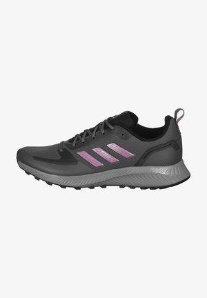RUNFALCON 2.0 TR - Trail running shoes - grey five / cherry metallic / grey six