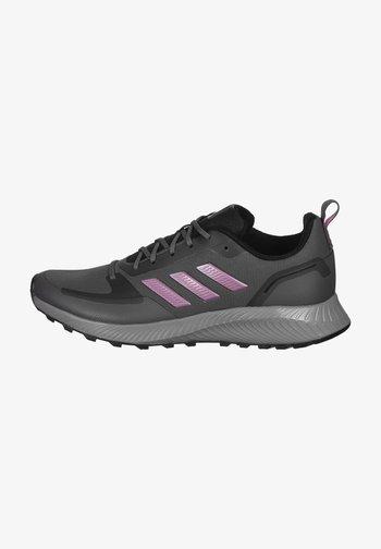 RUNFALCON 2.0 TR - Zapatillas de trail running - grey five / cherry metallic / grey six