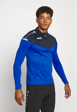 ZIP CHAMP 2.0 - Fleece jumper - royal/marine